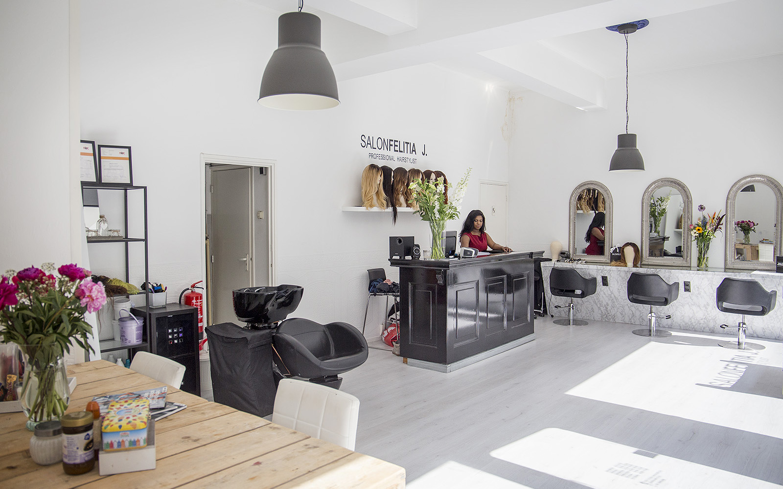 Salon Felitia in het Hoogkwartier in Rotterdam