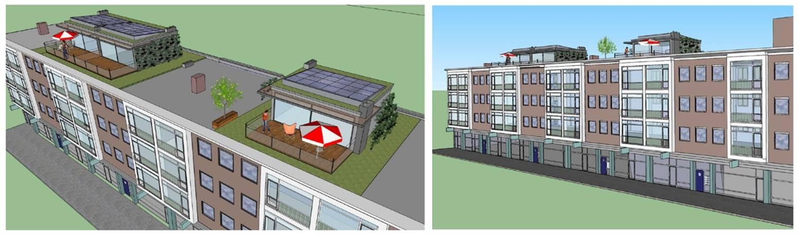 Dakopbouw Hoogstraat db-architecten