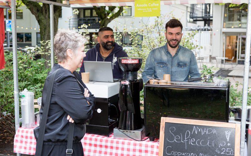Hoogkwartier Proeft Festival 2018 foto door Emiel Meijer Amada Coffee