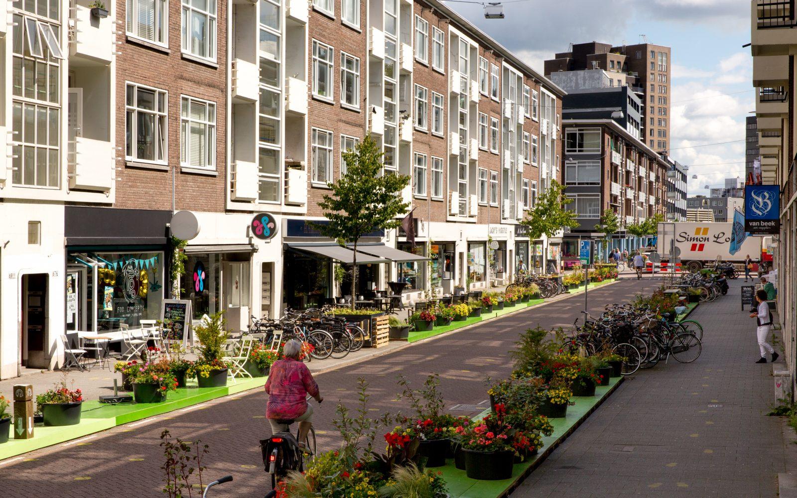 De Hoogstraat is open een project van o.a. Sanne van MVRDV